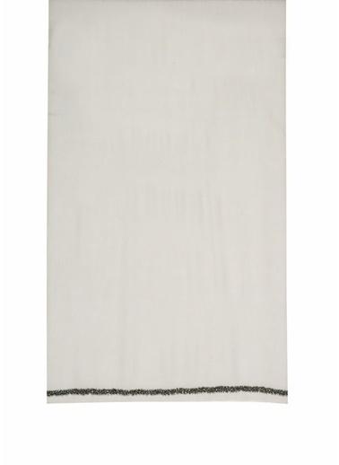 Beymen Collection 101597949 Payet Şeritli Yün Taş Kadın Şal Taş